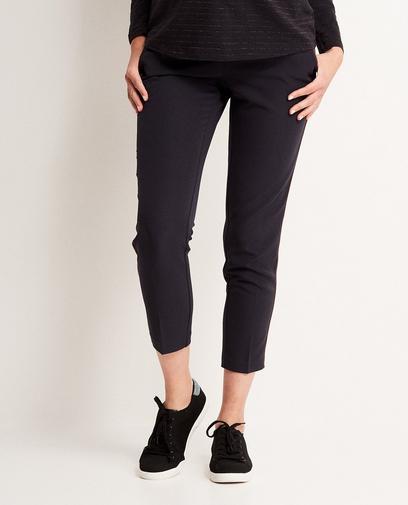 Donkerblauwe pantalon